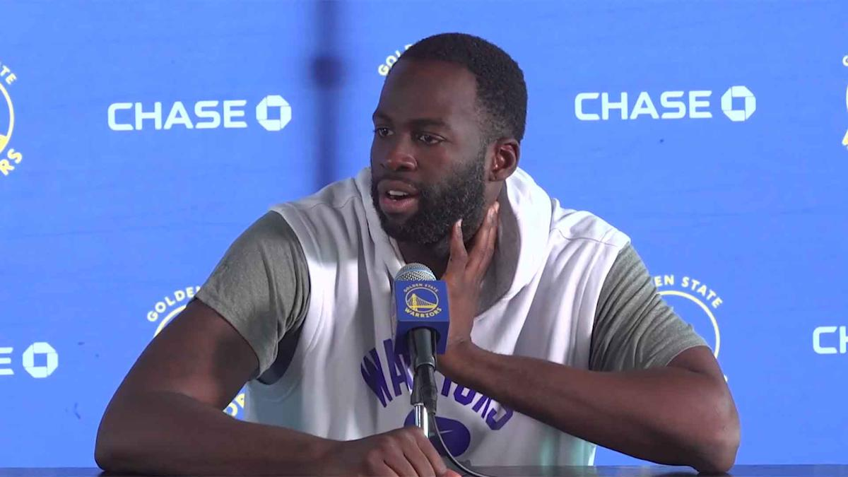 Draymond Green on Andrew Wiggins declining COVID-19 vaccine: 'It's not my place or my business'