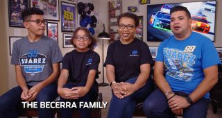 Family profile: Love of NASCAR begins at young age for Becerras