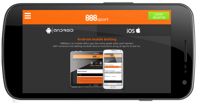 888 Mobile App - Android Download Page