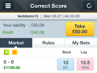 betting betfair
