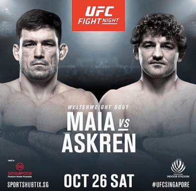 UFC Betting Odds Maia Askren