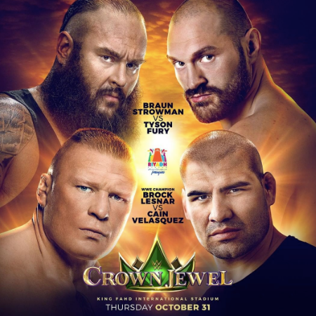 WWE Crown Jewel Betting Odds