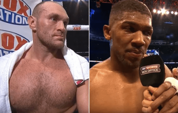 Boxing Odds Fury Joshua