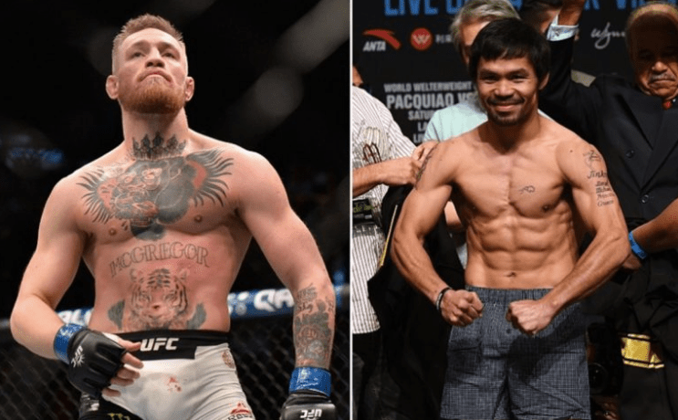 McGregor Pacquiao Odds