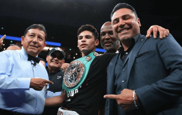 Ryan Garcia Jorge Linares Odds