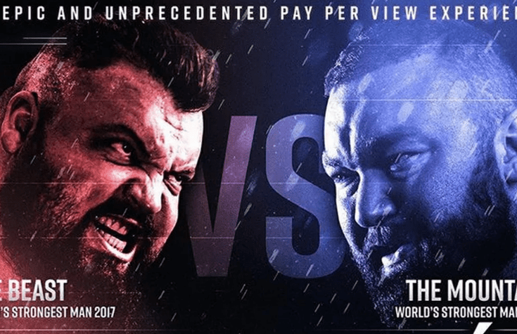 the beast vs the mountain odds