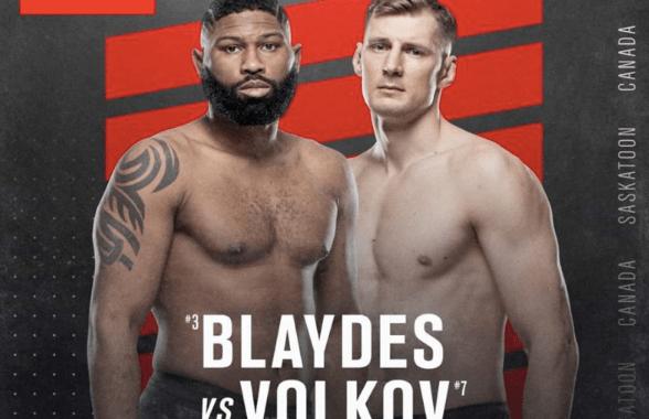 Blaydes vs Volkov Odds