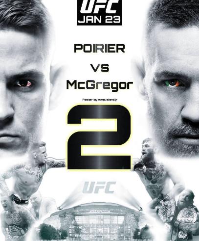 McGregor vs Poirier 2 Prop bets