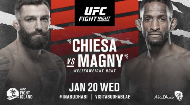Michael Chiesa vs Neil Magny Odds