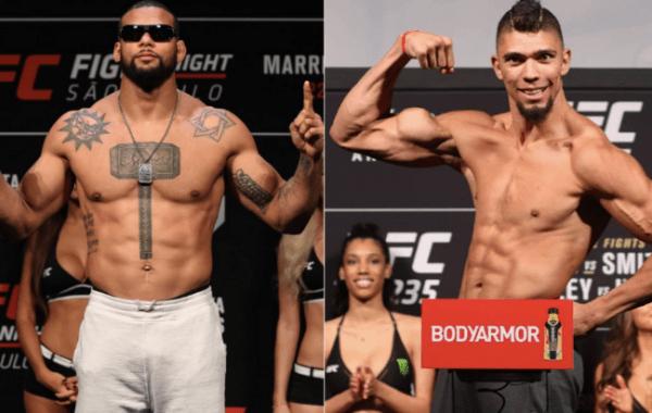 Santos vs Walker set for UFC event on Sept 25