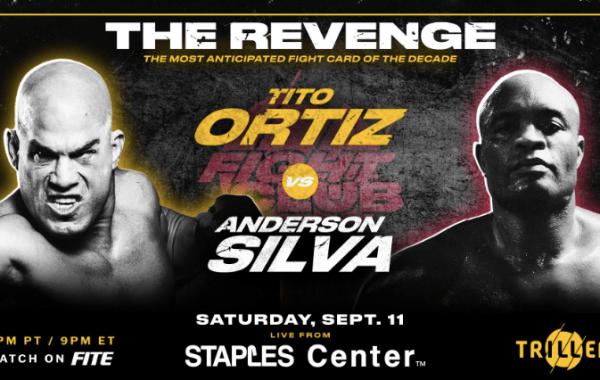 Anderson Silva vs Tito Ortiz set for Sept 11