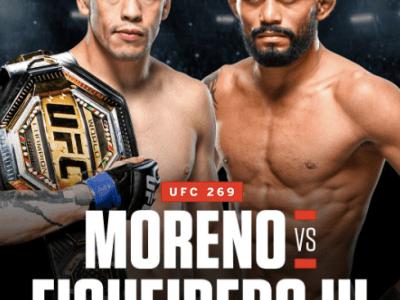 Brandon Moreno vs. Deiveson Figueiredo 3