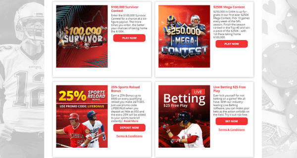 bet online promotions