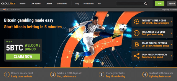 cloudbet sportsbook