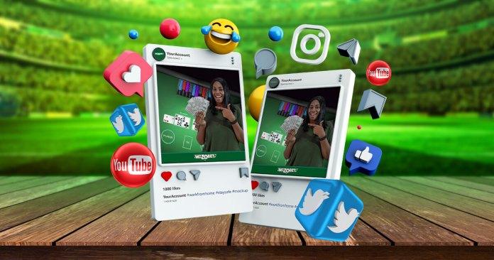Social Media Wazobet