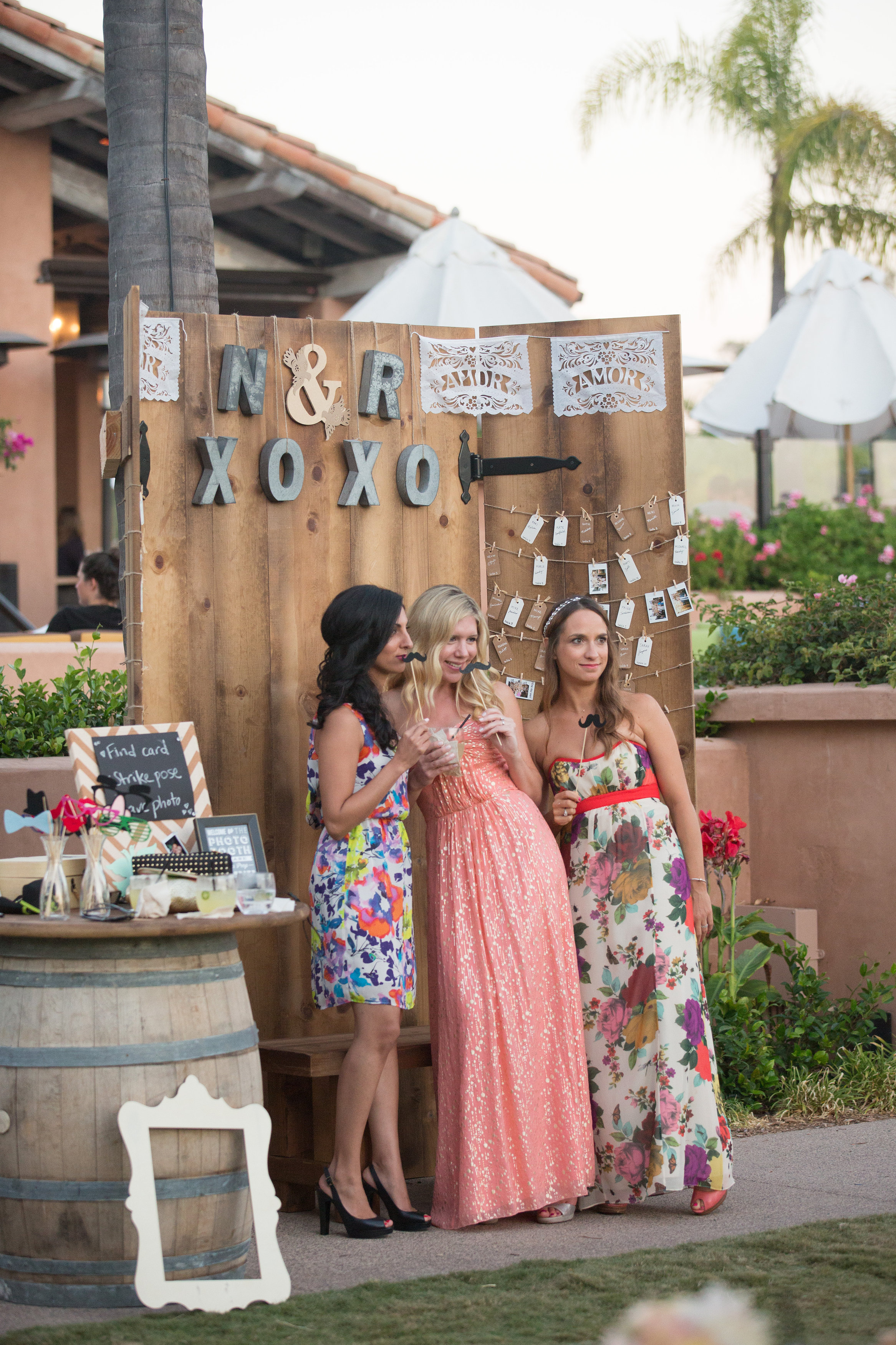 Nick and Rachels Rancho Valencia Boho Chic Wedding  Betty Blue Events