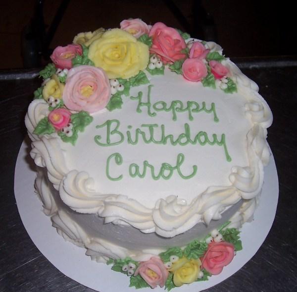 Happy Birthday Carol Cake Year Of Clean Water