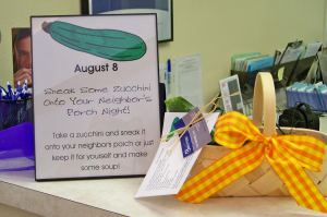 patient appreciation gift idea zucchini