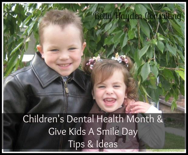 Children's Dental Health Month and GKAS Day Ideas