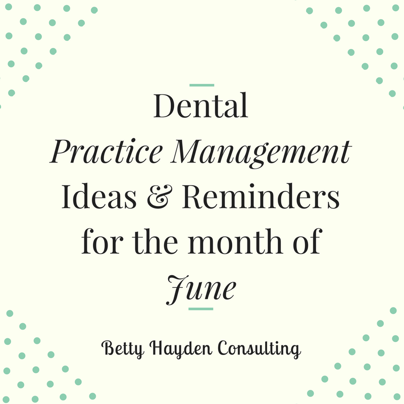 betty hayden consulting dental practice management