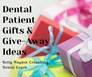 dental gifts and freebies