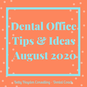 dentist office summer marketing ideas dental coaching betty hayden