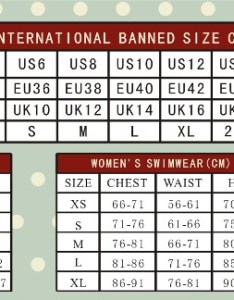 Banned apparel size charts also bettylicious rh
