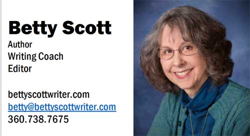 Betty Scott Business Card