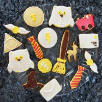 Harry Potter Sugar Cookies (Collaboration with 'Kathrin's Cup of Tea')