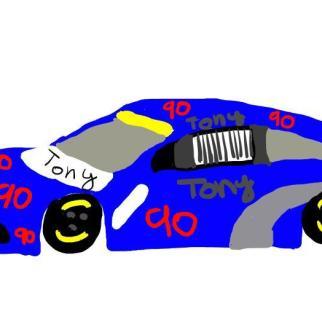 Tony nascar auto_2