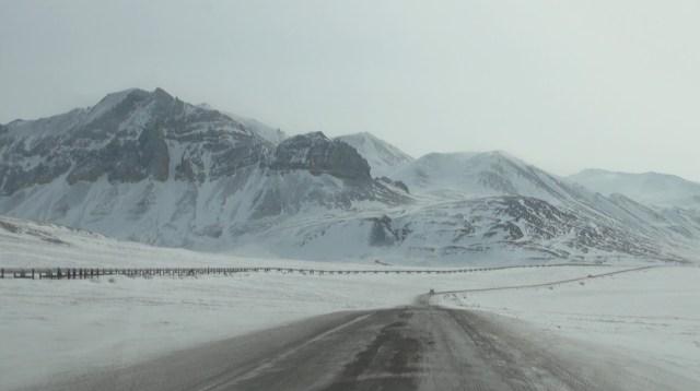 Джеймс Дальтон Автомагистраль, Аляска
