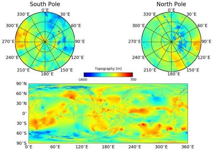 Создана первая физическая карта Титана