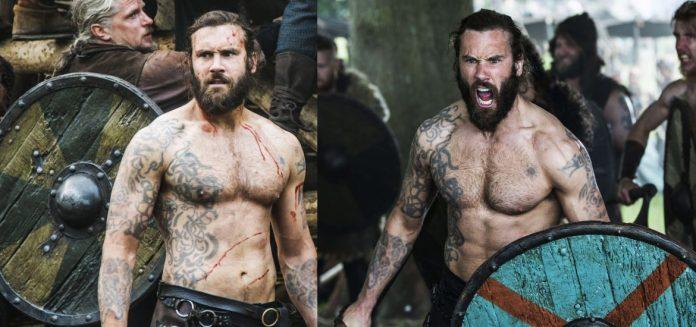 Татуировки Ролло Лодброка из сериала «Викинги»