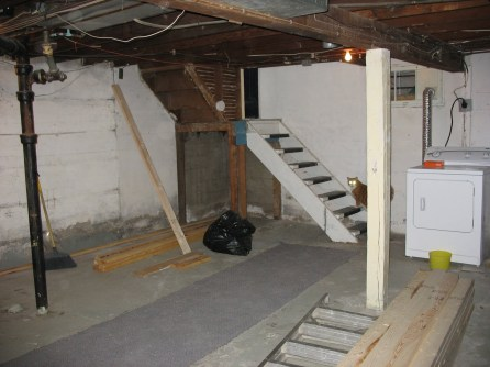 Basement: Before