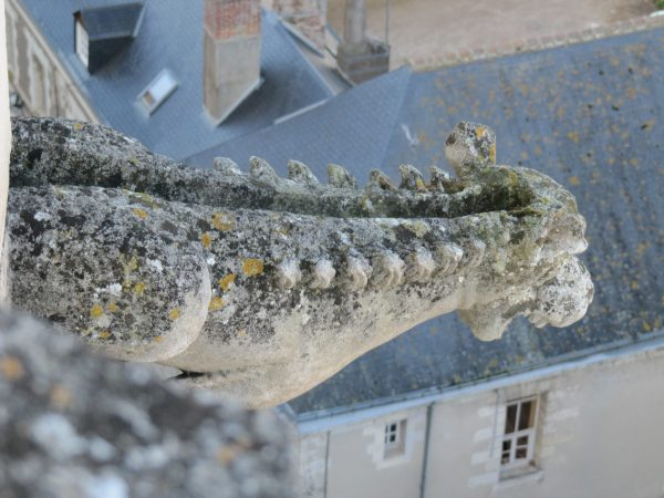 Gargoyle at Chateau Ambiose