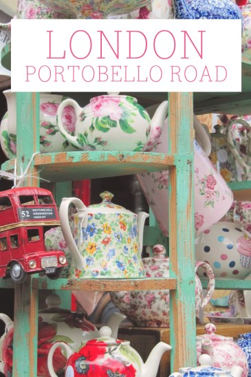 Portobello Road, London, England