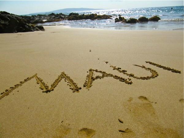 Maui, baby!
