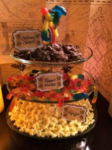 Wild sweets from Honeydukes. Cockroach clusters, flobberworms and gnargles.