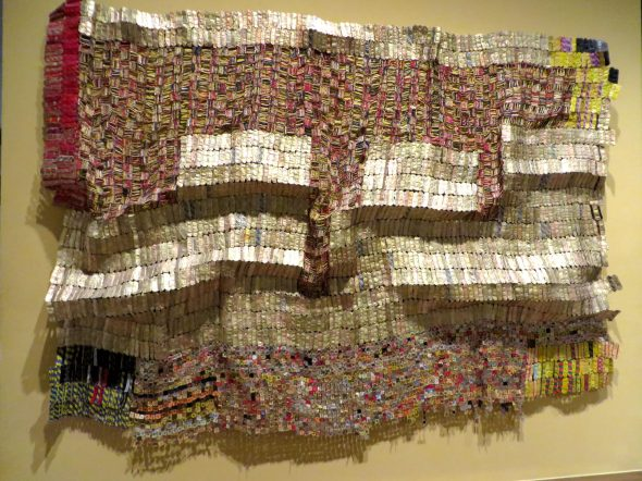 Between Earth and Heaven, 2006, El Anatsui, The Met.