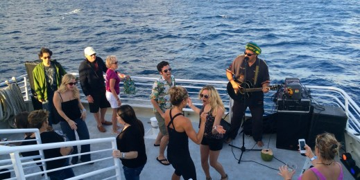 Island Rhythms sunset cruise from the Pacific Whale Foundation.