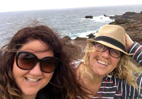 Maui with my sis!