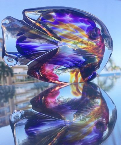 Glass fish from Hot Island Glass