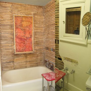 Bathroom renovation: Before
