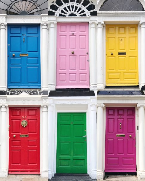 Georgian Doors, Dublin, Ireland