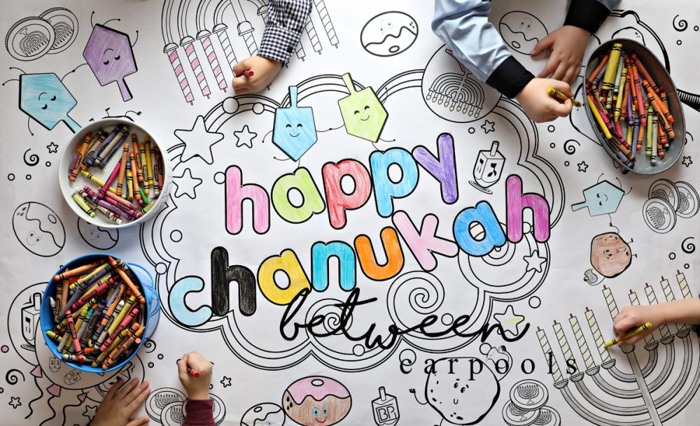 Just Add Crayons! Free Chanukah Coloring Pages Download - Between ...