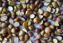 Two-Ingredient Side Dishes: Garlicky Roasted Potatoes. These are the side dishes you'll make the most often in the least amount of time.