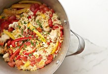 Chicken Paella: The One Dish Dinner (Most of) Your Family Will Love. Chicken, rice, and vegetables, cooked in one pot. It's time for us to try Spain's favorite dish.