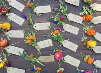 10 Floral-Inspired Tablesetting & Placecard Ideas for Yom Tov
