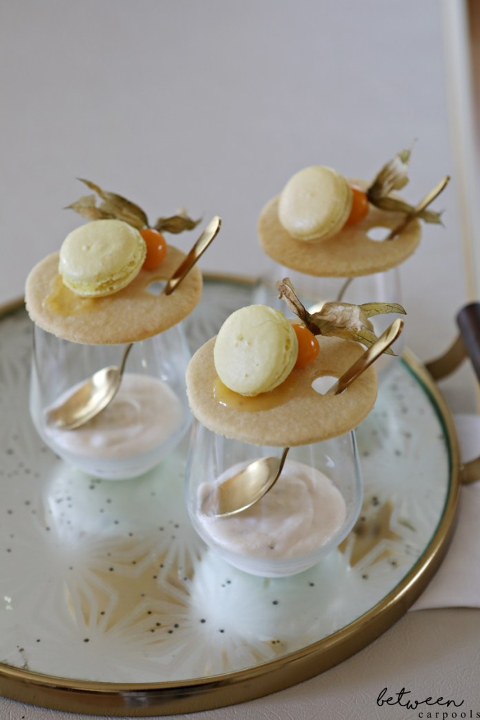 It's All About the Presentation: Passionfruit Mousse