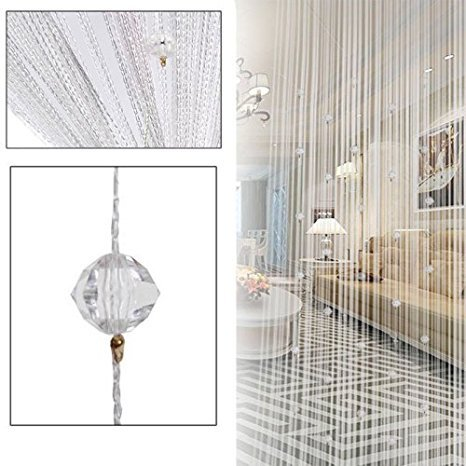 Beaded curtains for Sukkah decorations